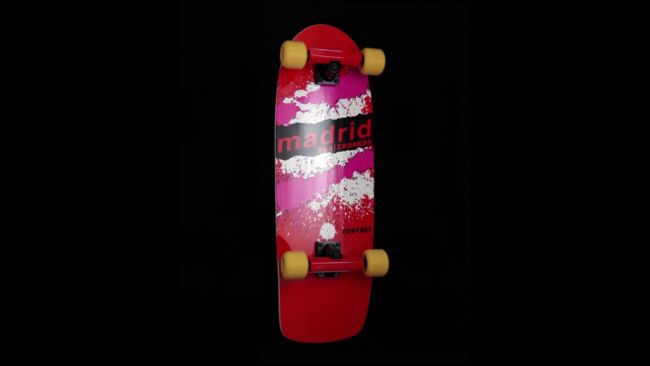 "Madrid x Netflix Stranger Things Mad Max Explosion Official Replica 29"" Skateboard Complete"