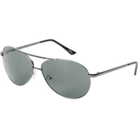 Jack Martin Team Ramrod Gun Metal Aviator Sunglasses