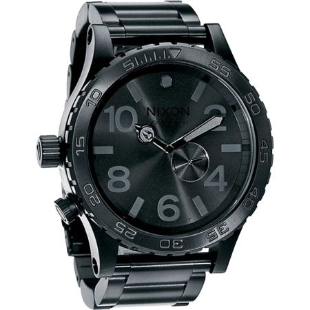 Nixon 51-30 Black Analog Watch
