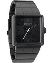 Nixon Quatro All Black Analog Watch