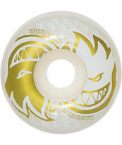 Spitfire Eternal White & Gold 54mm Skateboard Wheels