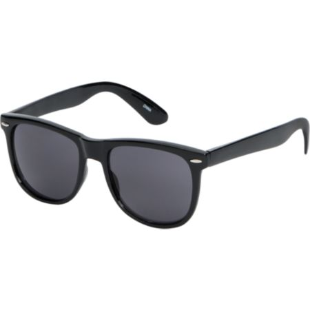 Jack Martin Frisky Business Shiny Black Sunglasses