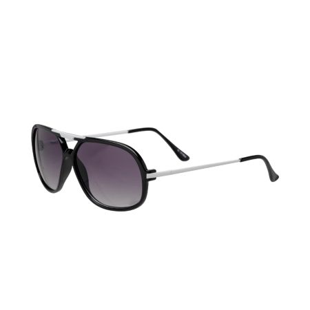 Jack Martin Whad Up Matte Black Sunglasses