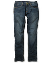Free World Messenger Medium Blue Skinny Jeans