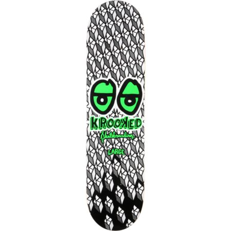 Krooked Brite Eyes 8.125 Skateboard Deck