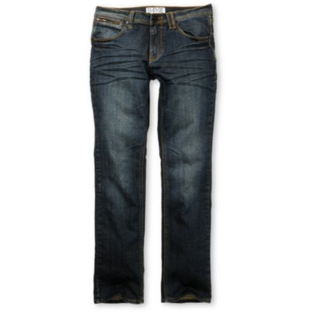Empyre Punk Rock Paul Resin Dirty Wash Super Skinny Jeans