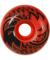 Spitfire Eternal Red & Black 52mm Skateboard Wheels