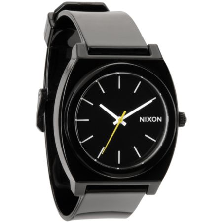 Nixon Time Teller P Black Analog Watch