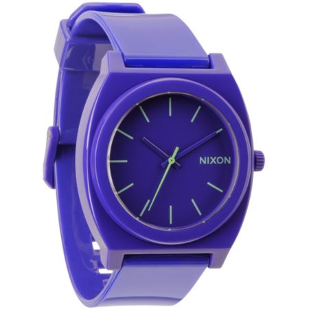 Nixon Time Teller P Purple Analog Watch