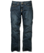 Free World Night Train Medium Blue Regular Fit Jeans