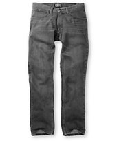 Free World Night Train Faded Grey Regular Fit Jeans