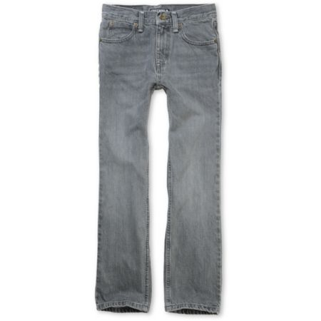 Free World Boys Messenger Grey Skinny Jeans