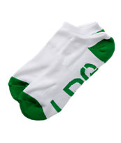 LRG White & Green Ankle Socks