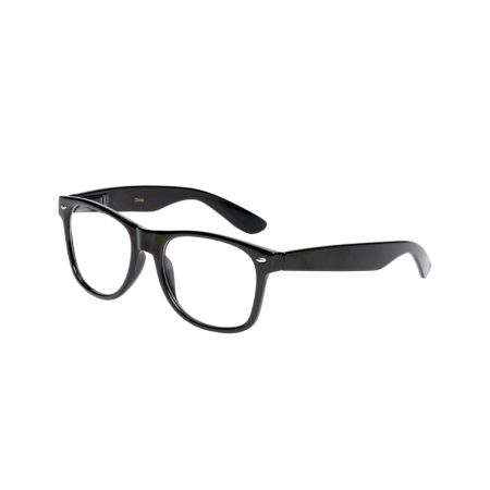 Frisky Business Black Frame Nerd Glasses