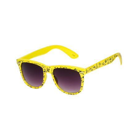 Jack Martin Frisky Business Yellow Sunglasses
