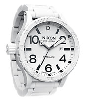 Nixon Ceramic 51-30 White Watch