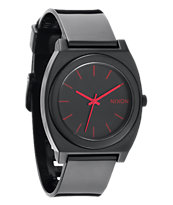 Nixon Time Teller P Black & Pink Analog Watch