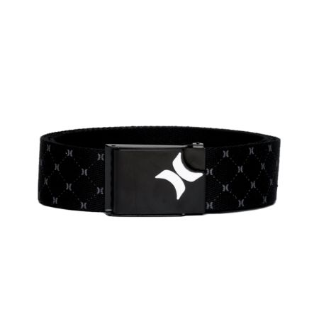 Hurley O&O Iconic Black Web Belt