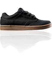 Supra Dixon Black Canvas Shoe