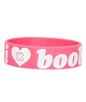 Keep A Breast Pink I Love Boobies Bracelet