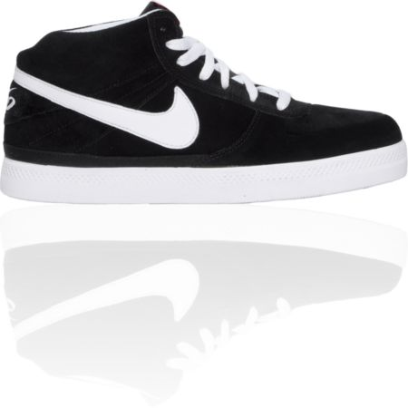 Nike 6.0 Mavrk 2 Mid Black & White Shoe