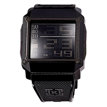 KR3W Halo Black Digital Watch