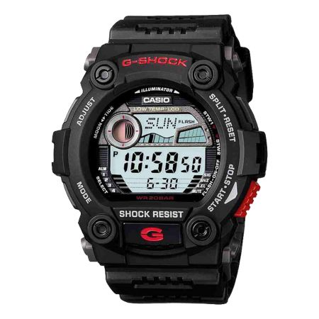 G-Shock G-7900-1CR G-Rescue Black Digital Watch