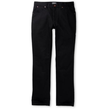 Free World Messenger Black Twill Pants