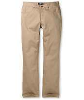 Free World Messenger Skinny Khaki Twill Pants