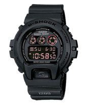 G-Shock DW6900MS-1 Classic Black Watch
