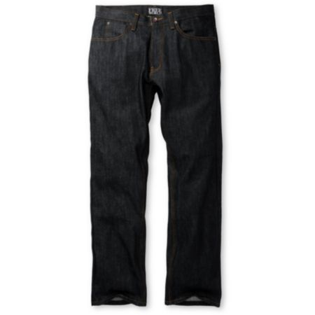 Free World Garage Raw Wash Regular Fit Jeans