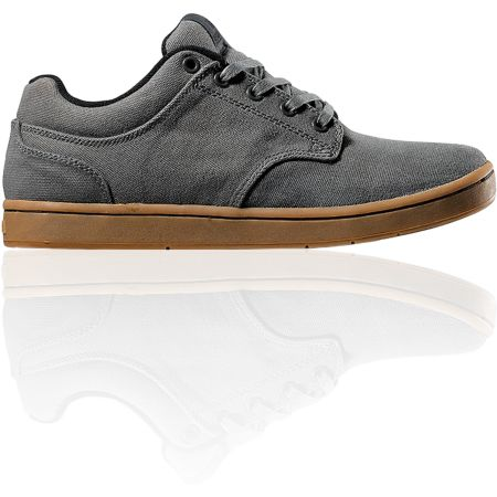 Supra Dixon Grey Canvas Shoe