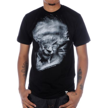Imaginary Foundation Albert Black Tee Shirt