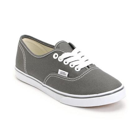 Girls Wearing Gray Vans