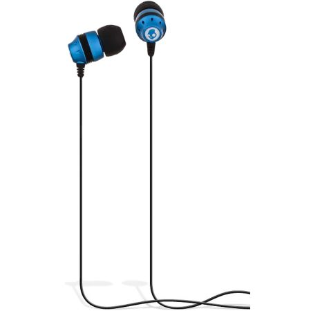Skullcandy Inkd Blue & Black Earbuds