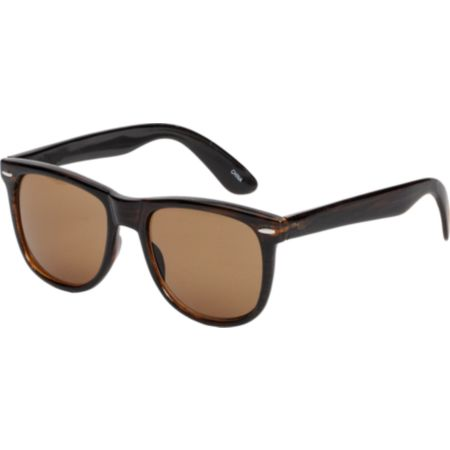 Jack Martin Frisky Business Stripe Tort Sunglasses