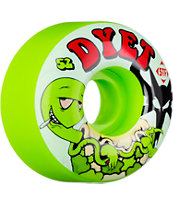 Bones Dyet Turtles Green 52mm STF Skateboard Wheels