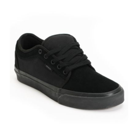 Vans Chukka Low All Black Shoe