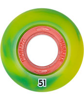 Form Rasta Dualite 51mm Skateboard Wheels