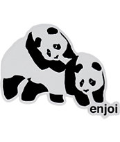 Enjoi Piggyback Panda Sticker