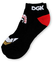 DGK Eyes Black Ankle Socks