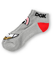 DGK Eyes Grey Ankle Socks