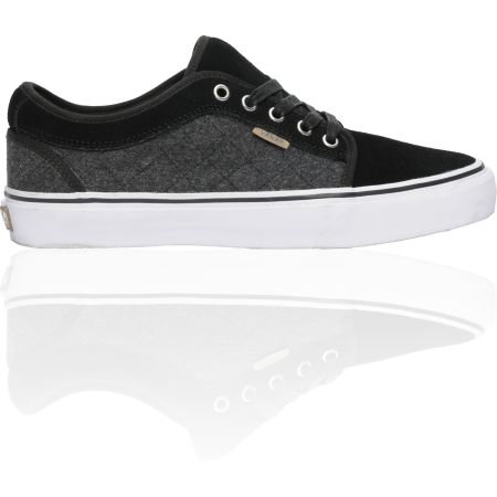 Vans x Zumiez Chukka Low Black & Grey Quilt Shoe