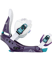 Burton Scribe EST Purple 2011 Girls Snowboard Bindings