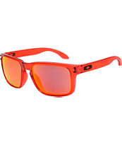 Oakley Holbrook Crystal Red & Ruby Iridium Sunglasses