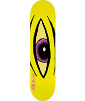 Toy Machine Sect Eye Yellow 8.0 Skateboard Deck