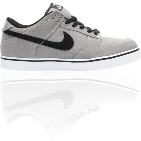 Nike 6.0 Dunk SE Grey & Black Canvas Shoe