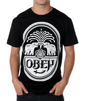 Obey IPA M94 Black Tee Shirt