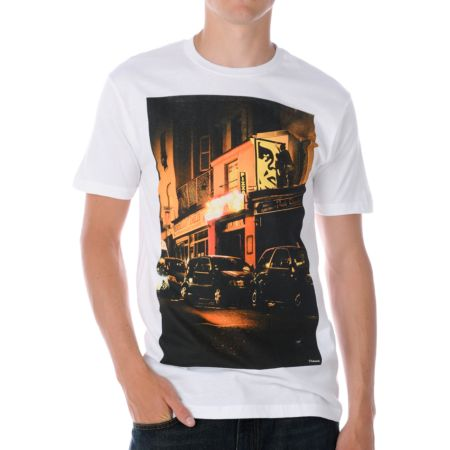 Obey Bombs Away White Tee Shirt