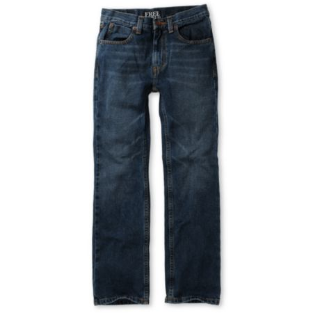 Free World Boys Messenger Medium Blue Skinny Jeans
